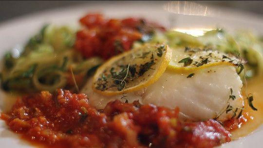Italian style cod