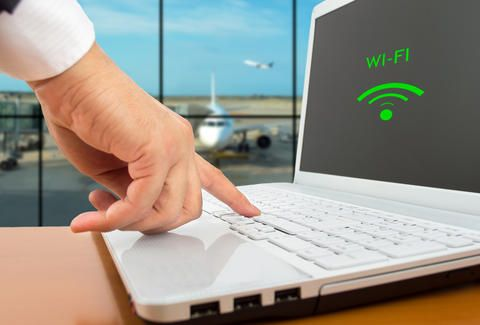 "6 airport WiFi hacks, including typing ""?.jpg"" at the end of a URL...that will sometimes allow you to get around the airport's WiFi restrictions."