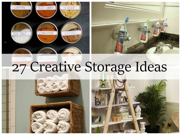27 creative storage ideas decorating ideas creative storage house organization ideas diy. Black Bedroom Furniture Sets. Home Design Ideas