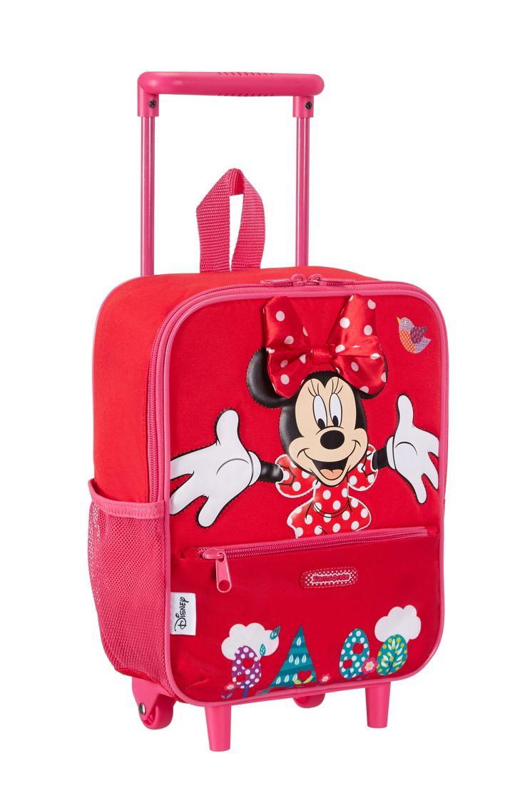 Disney Wonder - Minnie Mouse School Trolley #Disney #Samsonite #MinnieMouse #Minnie #Mouse #Travel #Kids #School #Schoolbag #MySamsonite #ByYourSide