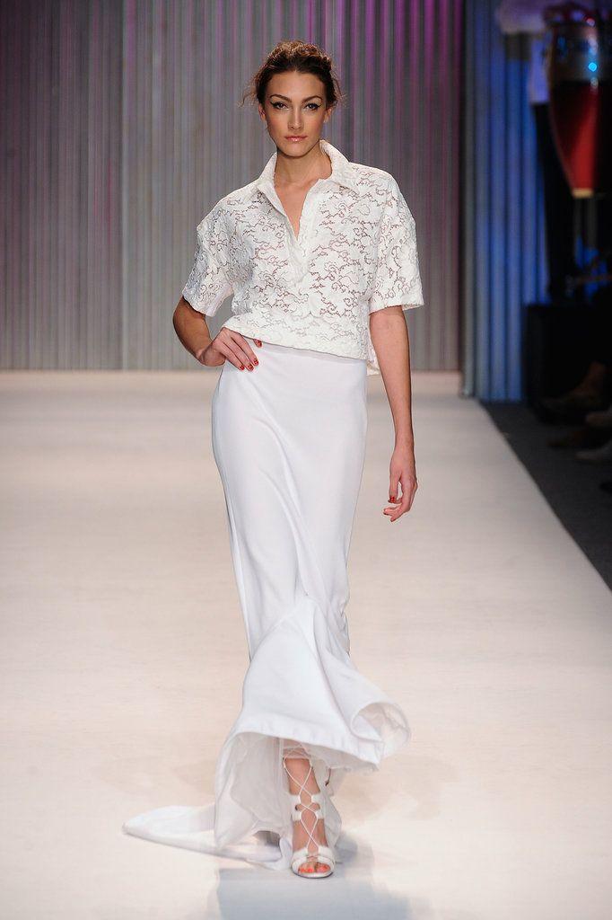 Трейси Риз Весна 2014 показ мод | Нью-Йорк Неделя моды | POPSUGAR Мода