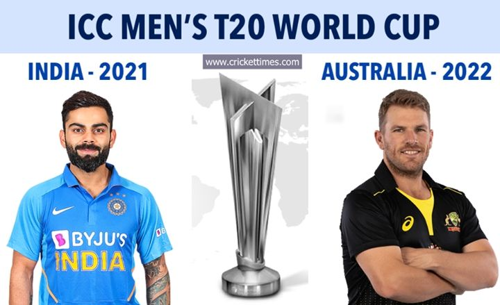 2021 T20 Wc India 2022 T20 Wc Australia 2023 Odi Wc India In 2020 Latest Cricket News Cricket News World Cup
