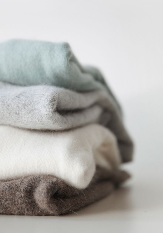 I'd love a light weight cashmere sweater for spring this light grey and green colors are so pretty or a blue would be pretty too.