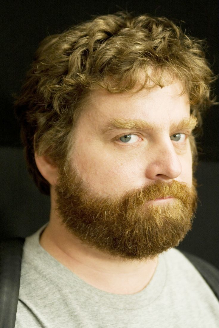 Zach Galifianakis (1969) (The Hangover, It's a kind of a funny story,