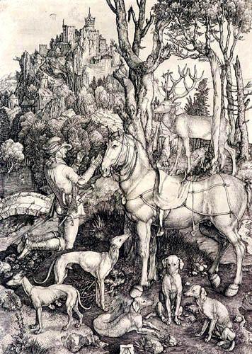 Albert Durer, Pyhä Eustachius, 1500-luku