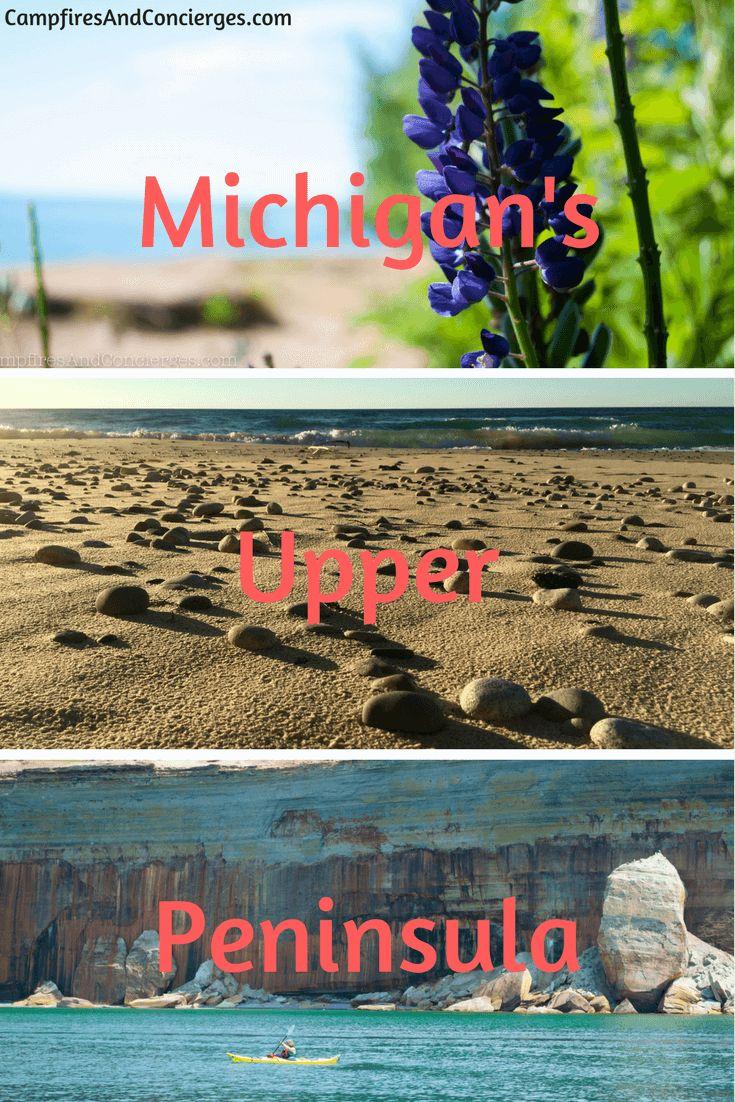Michigan's Upper Peninsula Outdoor Adventure, Midwest Travel #puremichigan #midwesttravel