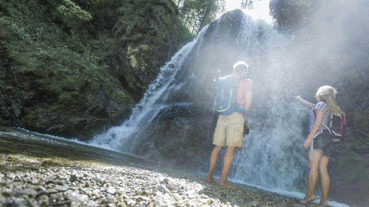 Schliersee: Wandern und Berge Josefstaler Wasserfälle