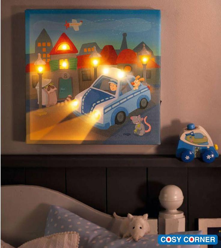 Υπέροχο φωτιστικό δωματίου που είναι συγχρόνως και κάδρο! Το βράδυ φωτίζει το δωμάτιο κρατώντας συντροφιά στα παιδιά. http://goo.gl/fGljq9