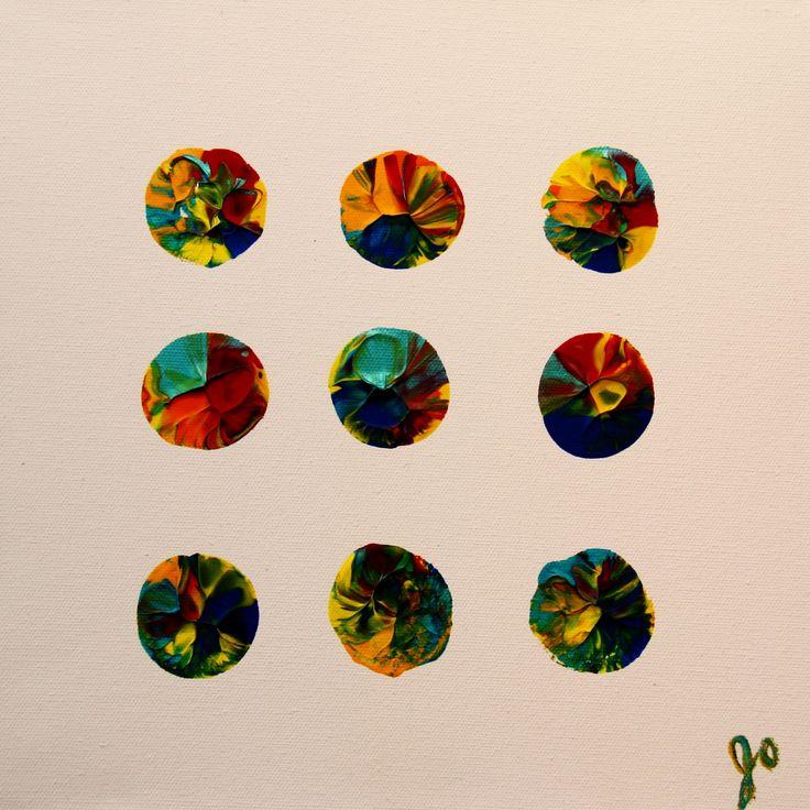 Regards neuf. Même mouvement, mêmes couleurs mais jamais pareil. Un nouveau regard à chaque fois!