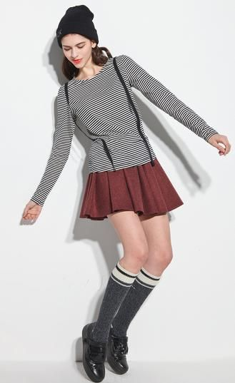 Casual pleated skirt - Hichinashopping.com can help you to buy the items on china online shopping website and ship to you!