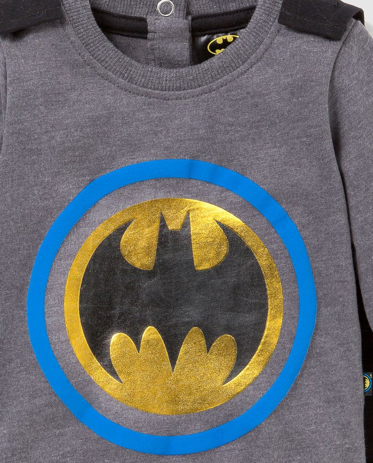 Batman baby caped body detail