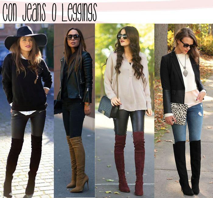 Moda Full, Moda Denim, Outfit Invernal, Moda Frio, Botas Negras Largas Tacon, Botas Largas Con Jeans, Botas Mujer Altas, Botas Largas Outfit, Boots Largas