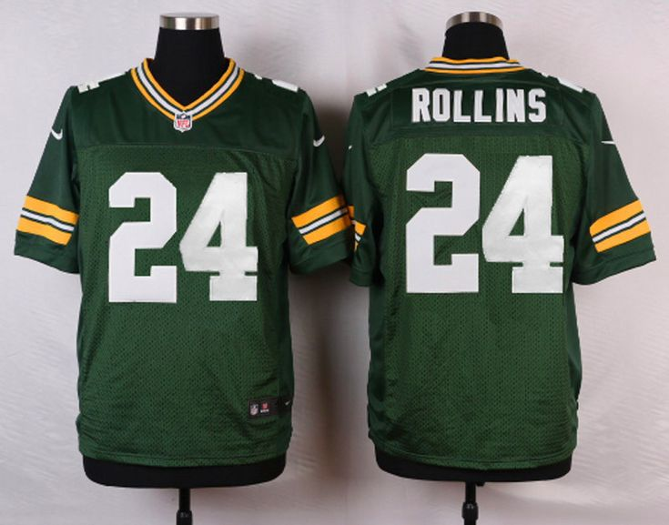... Mens NFL Green Bay Packers 24 Quinten Rollins Green Elite Jersey NFL  Sam Shields ... 62f2b6992