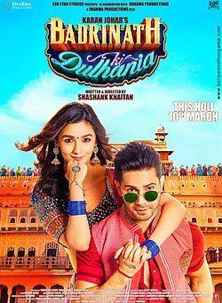 Badrinath Ki Dulhania Full Movie Download Free 720p, Badrinath Ki Dulhania Film, Free Movie Download Badrinath Ki Dulhania 2017 in Hindi.
