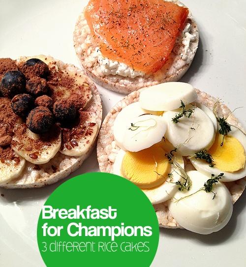 Gezond ontbijtje!