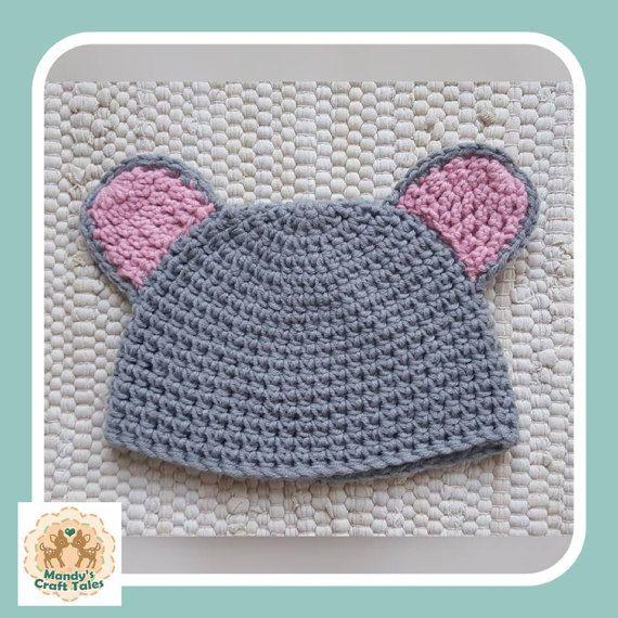 Crochet Baby Hat Novelty Baby Hat Crochet by MandysCraftTales