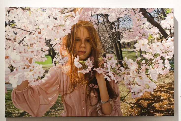 Painting by Yigal Ozeri ((this is an amazing painting)