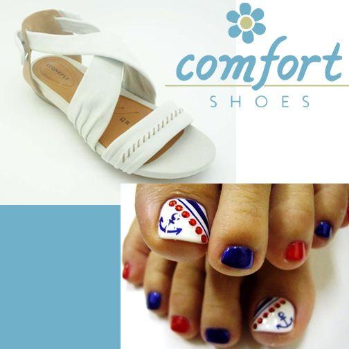 """Ένα casual, ξεκούραστο πέδιλο κι ένα πεντικιούρ """"βίρα τις άγκυρες"""" είναι όλα όσα χρειάζεσαι για να θυμάσαι ότι το καλοκαίρι δεν τελείωσε!  Stonefly ανατομικό πέδιλο Νο 36-41 στα 30€ για λίγες μέρες ακόμα!  http://www.comfort-shoes.gr/womens/98644-stonefly-detail"""