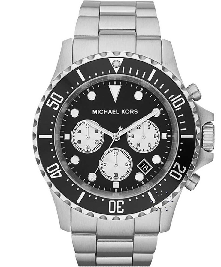 Michael KORS Chronograph Stainless Steel Bracelet Μοντέλο: MK8256 Τιμή: 272€ http://www.oroloi.gr/product_info.php?products_id=31058