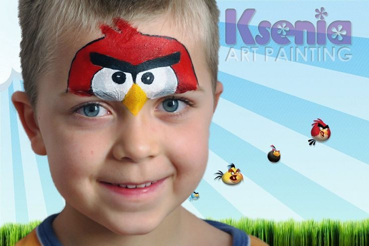 Maquillage Angry birds                                                                                                                                                                                 Plus