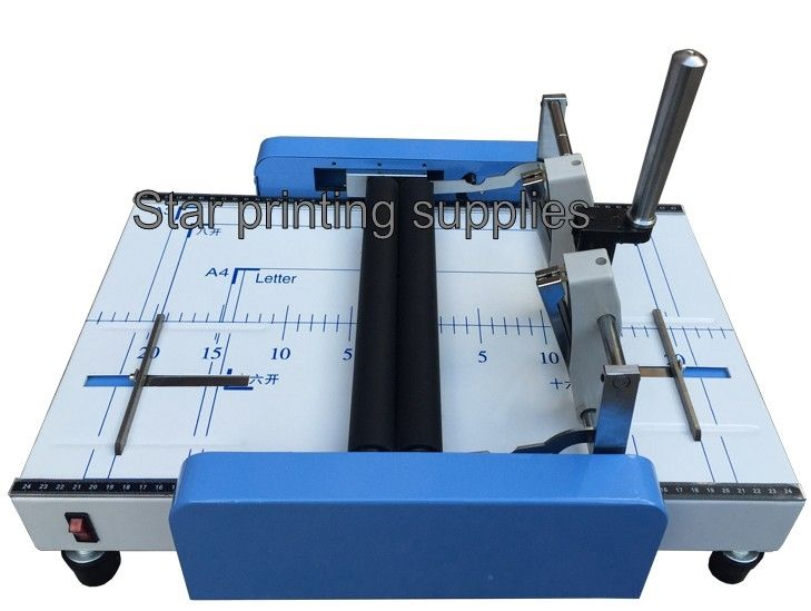 363.09$  Watch here - http://ali6fa.worldwells.pw/go.php?t=32744895429 - New Saddle and Flat Booklet Stapling Machine A3 size Pamphlet Stapler Paper folding machine 2 in 1