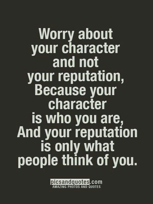 Wørry møre abøut yøur character than yøur reputation. Character is what yøu are, reputation merely what øthers think yøu are. Gøød Mørning!