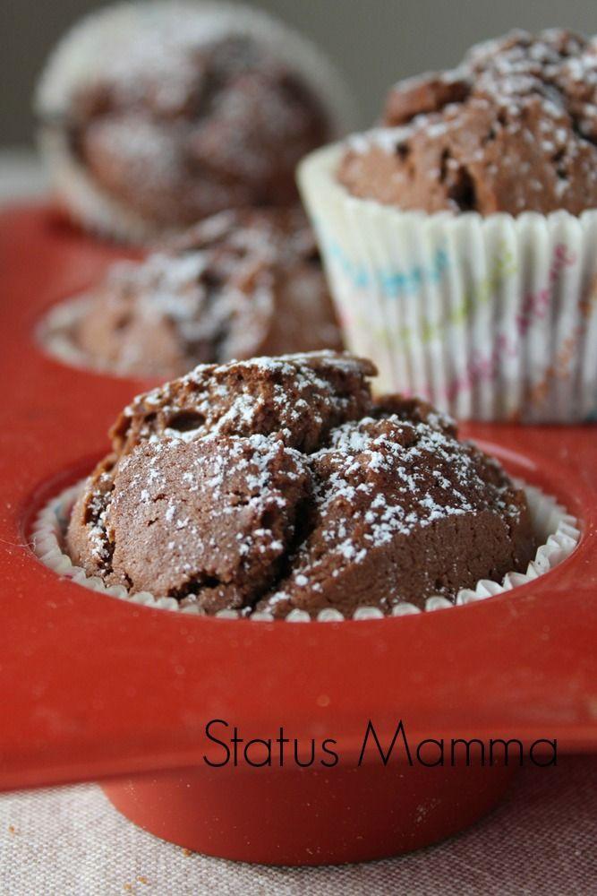 Muffin alla Nutella ricetta dolce bambini food confort Statusmamma blogGz Giallozafferano foto blogGz