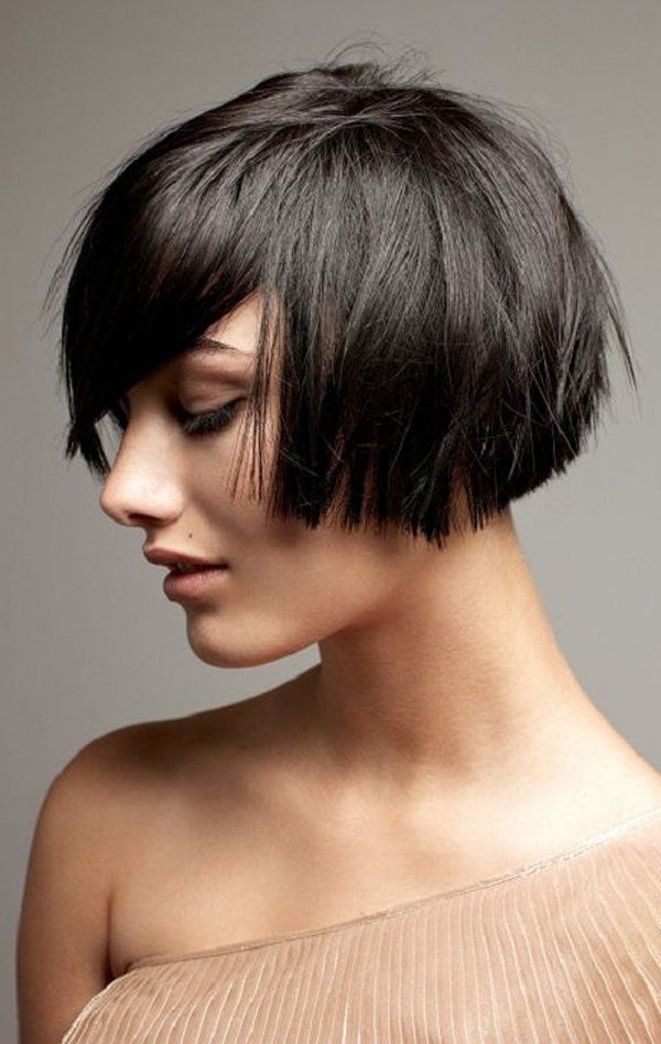 Keep it short and straight. It's really refreshing especially when you had a long hair for quite some time. Some of the weight would be taken off and it would feel really cool.