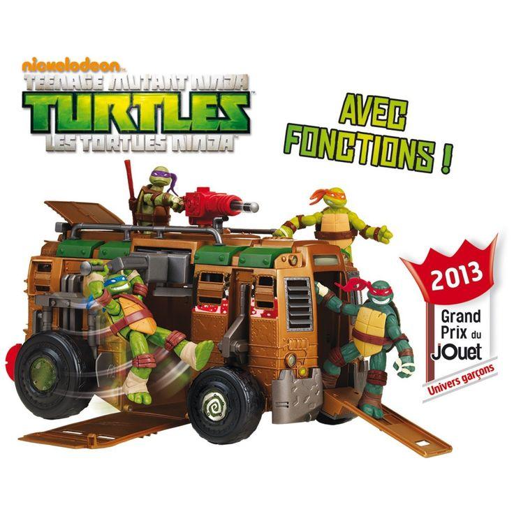 camion de combat des tortues ninja