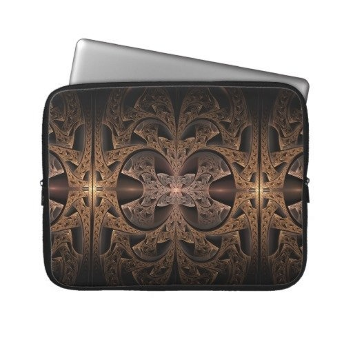 #Steampunk Engine #Abstract #Fractal #Art #laptop #sleeve $33.30