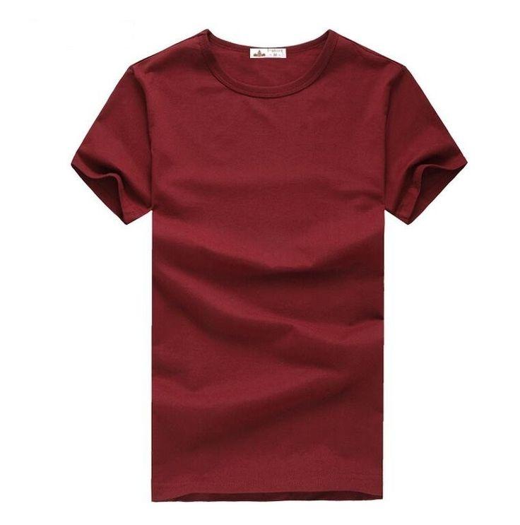Pánské jednobarevné triko s krátkým rukávem vínové – VELIKOST L Na tento produkt se vztahuje nejen zajímavá sleva, ale také poštovné zdarma! Využij této výhodné nabídky a ušetři na poštovném, stejně jako to udělalo již …
