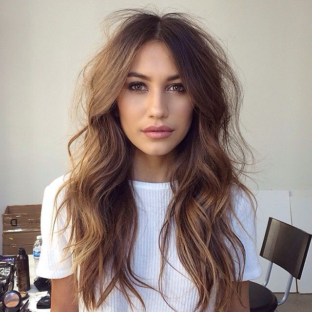 big, messy curls - now my hair is getting longer, this is a look I need to try