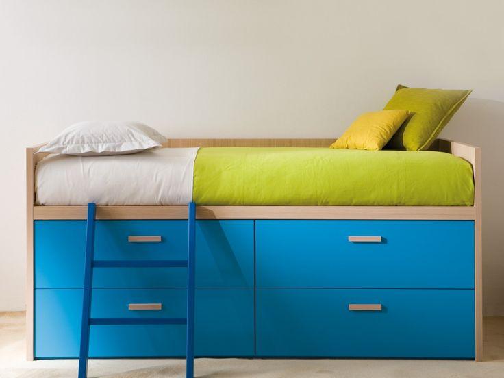 Bunk bed with wardrobe: Via Dearkids