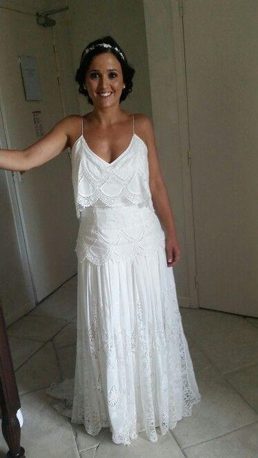 Robe de mariée chic & bohème