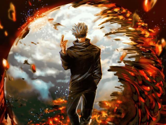 Satoru Gojo Jujutsu Kaisen Art Wallpaper Hd Anime 4k Wallpapers Images Photos And Background Wallpapers Den In 2021 Anime Wallpaper Anime Backgrounds Wallpapers Jujutsu Cool anime fighting wallpaper