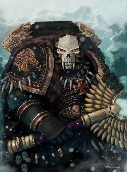 Space Wolves Rune Priest