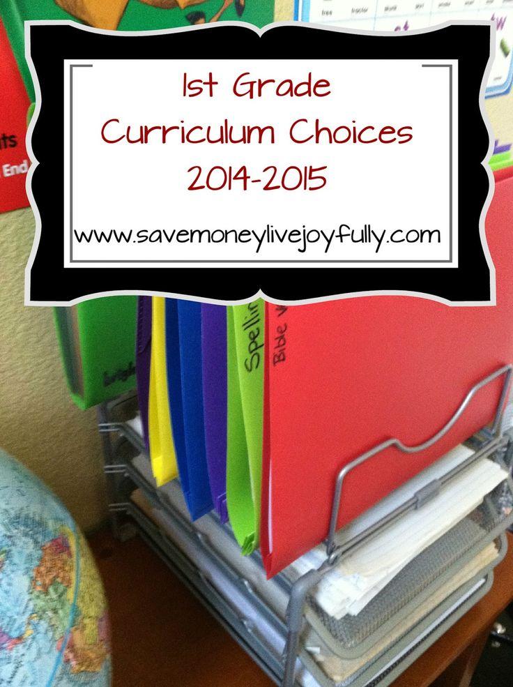 Save Money, Live Joyfully: Homeschooling-Our 1st Grade Curriculum