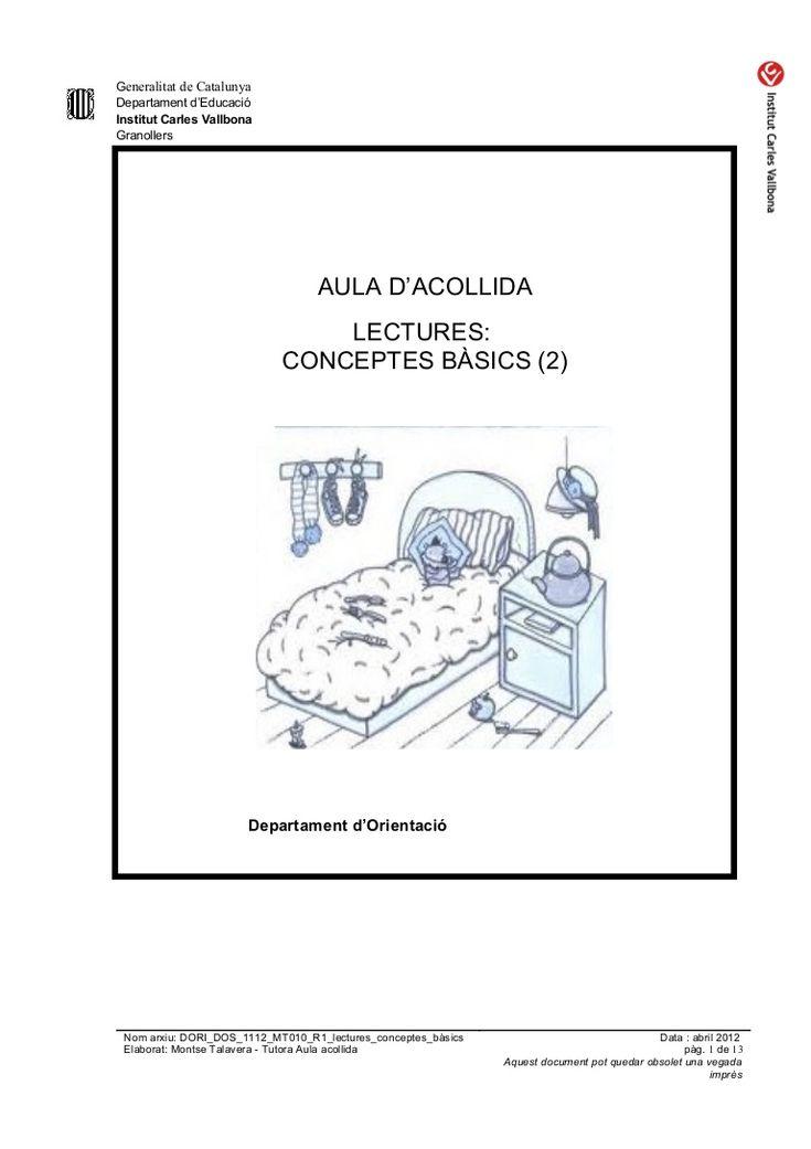 Lectures (conceptes bàsics)