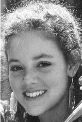 Rebecca Schaeffer, Age 21, shot by stalker, Robert John Bardo at point blank range in chest. Her death prompted anti-stalking laws in California.
