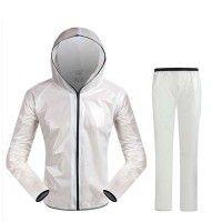 Waterproof Cycling Jacket Raincoat Windproof Bike Cycling Rain Gear