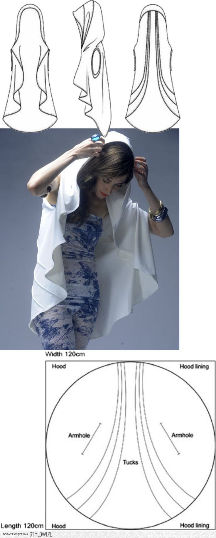 Pin od Rebecca Coleman na tablicy Patterning and Drappi… na Stylowi.pl