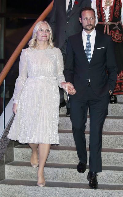 Crown Prince Haakon and Crown Princess Mette-Marit on first day of their visit to Canada