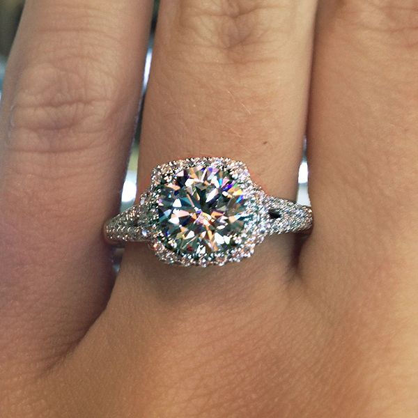 Carat Gold Solitaire Diamond Engagement Ring