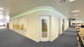 Tétris teams realized the interior fit out works of the new office of Schweppes in Madrid divided in two floors.