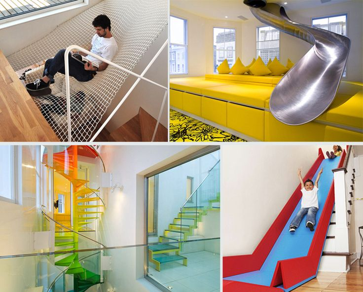5 Ways Of How To Turn Your House Into A Playground | http://www.designrulz.com/design/2014/08/5-ways-of-how-to-turn-your-house-into-a-playground/