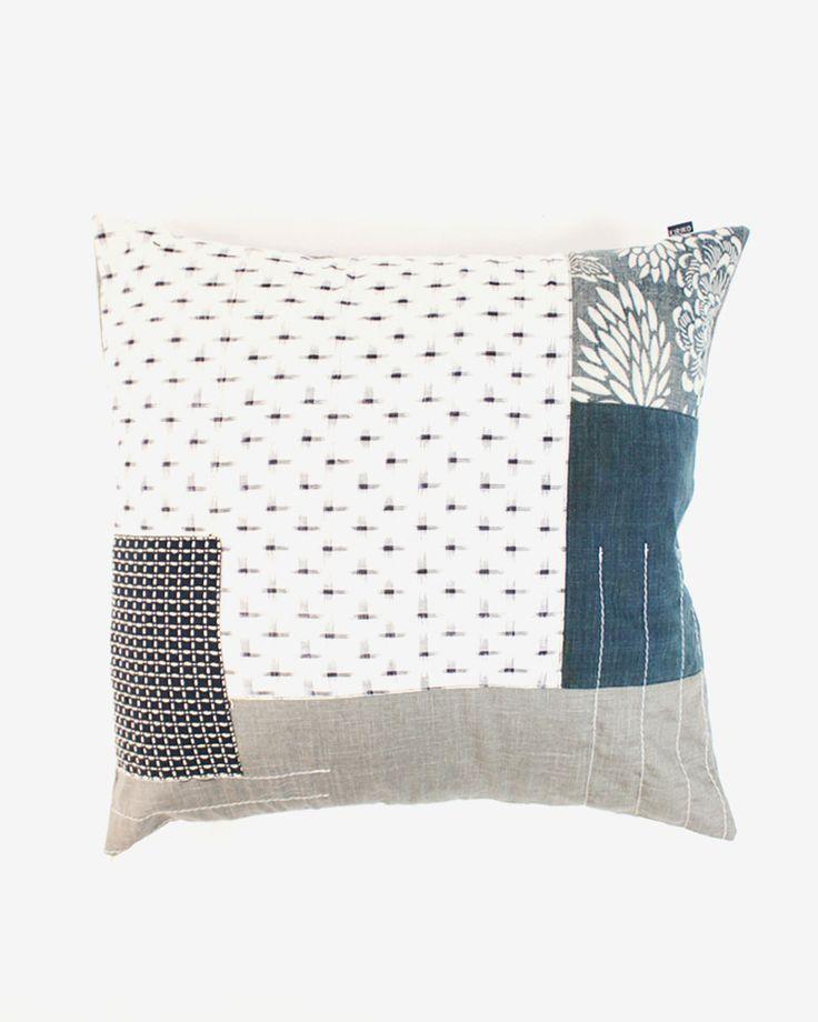 Kiriko Made // Vintage Boro Pillow