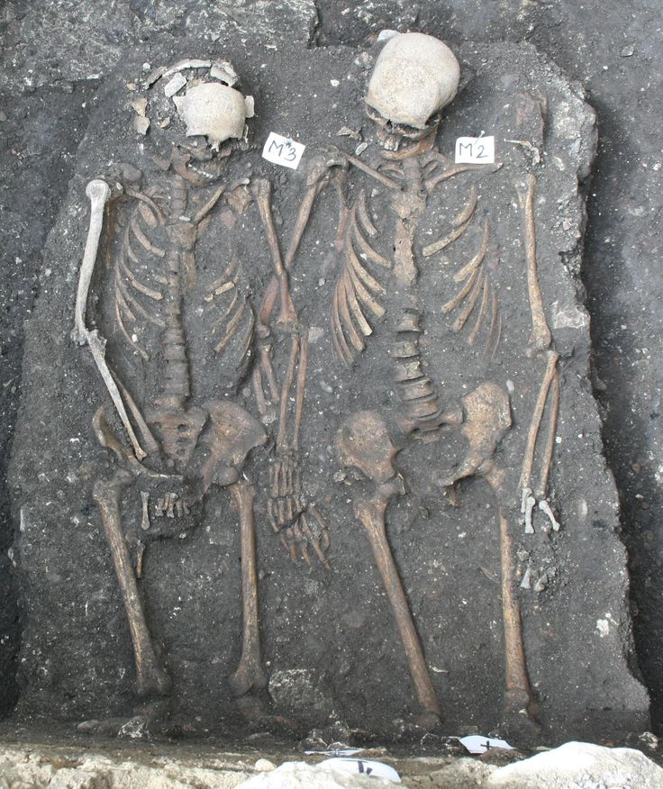 Medieval Skeletons Found Holding Hands in Romania (The History Blog)