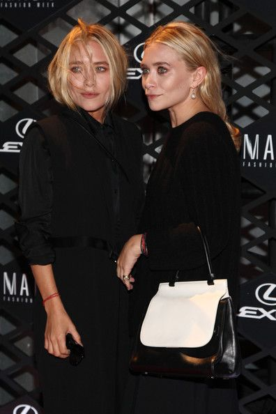 Ashley and Mary-Kate Olsen's Style Transformation Photo Gallery - Lexus Design Disrupted Fashion Event, 2013