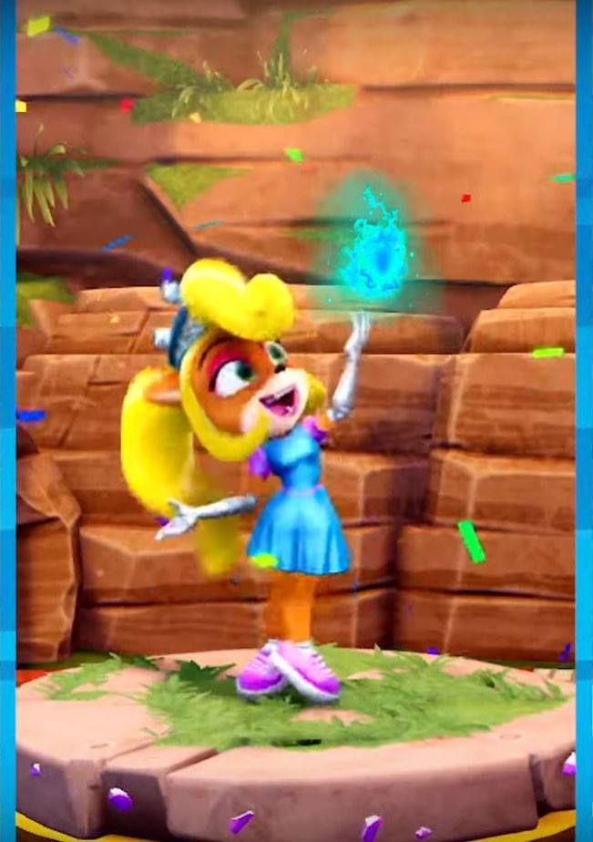 Princess Coco Bandicoot from Crash Team Racing Nitro Fueled
