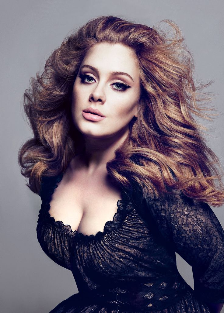 adele hair color